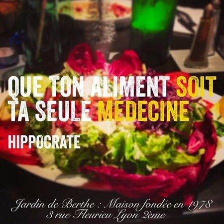 Le Jardin de Berthe : Un choix de plus de 30 salades gourmandes: promesses tenues!