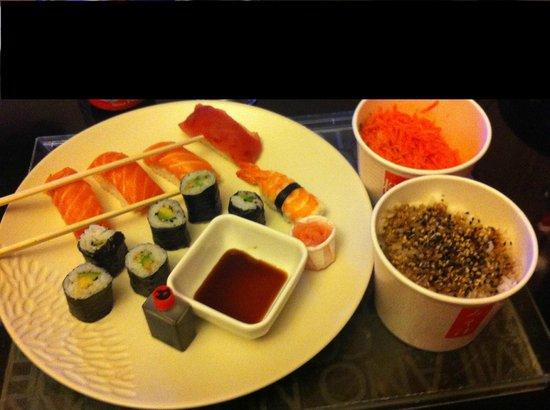 Samouraï Sushis : Menu midi 12.90€ avec 2 accompagnements !