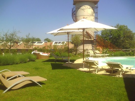 Borgo la Fornace: Grandi spazi per rilassarvi