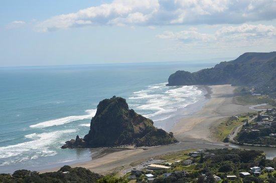 Lone Kauri Lodge: Lion Rock and Piha Beach
