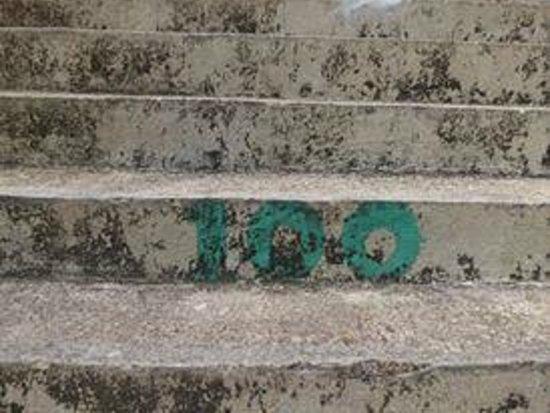 Mt Tapyas: 625 steps to go. Sigh