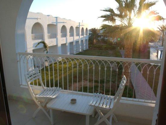 Seabel Rym Beach : La terrasse