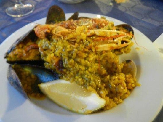 Restaurante El Pescadito: Un'ottima e abbondante paella
