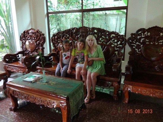 Siem Reap Evergreen Hotel: В холле отеля