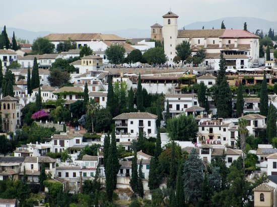 Museo de La Alhambra: View from the palace to Granada