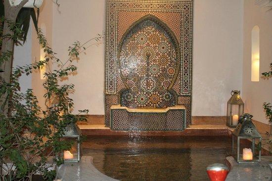 Riad Karmela: Plunge pool