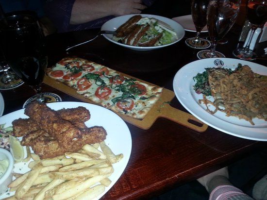 Gordon Biersch: Food is awesome!