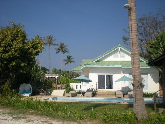 Shiva Samui: the villa on the beach front (not orchid)