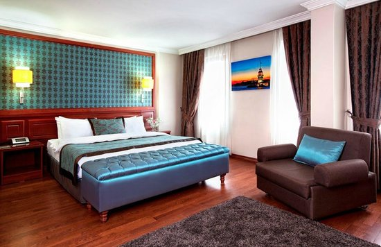 Grand Hotel Halic: Deluxe Corner Room