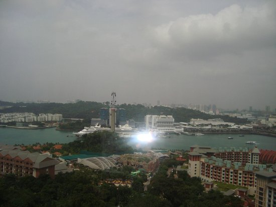 Tiger Sky Tower: view