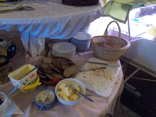 Toenning, Germany: Morgenbuffet