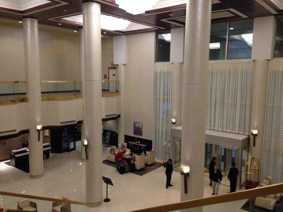 Greensboro Marriott Downtown: Greensboro Marriott Lobby