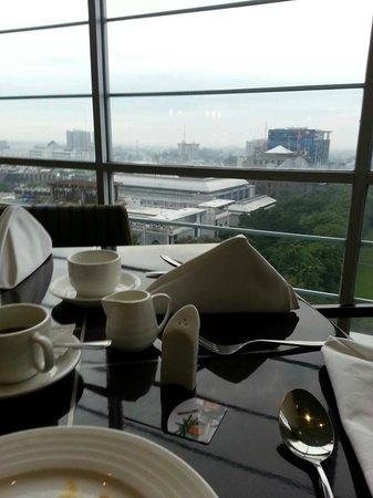 Aryaduta Medan: view from dining