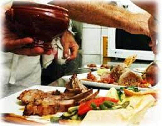 Le Ti Bouchon: Plating the Veal chop