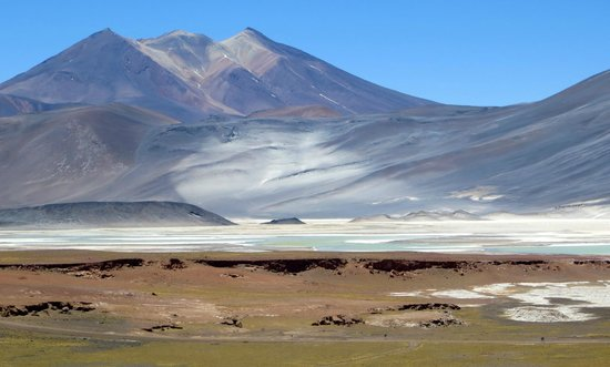 Lagunas Miscanti y Miniques: Cerro Incahuasi