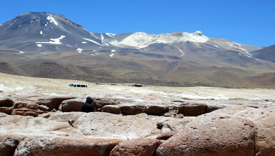 Lagunas Miscanti y Miniques: Piedras Rojas