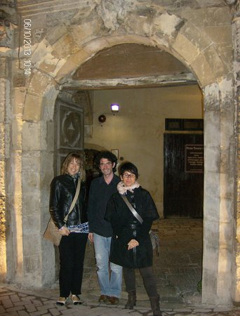 Grana Barocco Art Hotel & Spa: Noi curiose e il Sig.Lorenzo