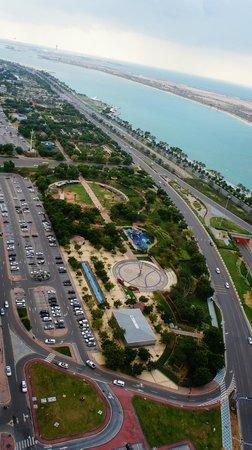 Sofitel Abu Dhabi Corniche : vista suíte