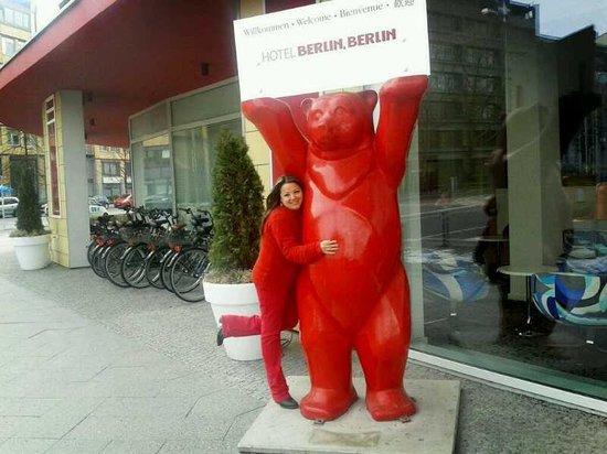 Hotel Berlin, Berlin: Con el oso del Berlín Berlín