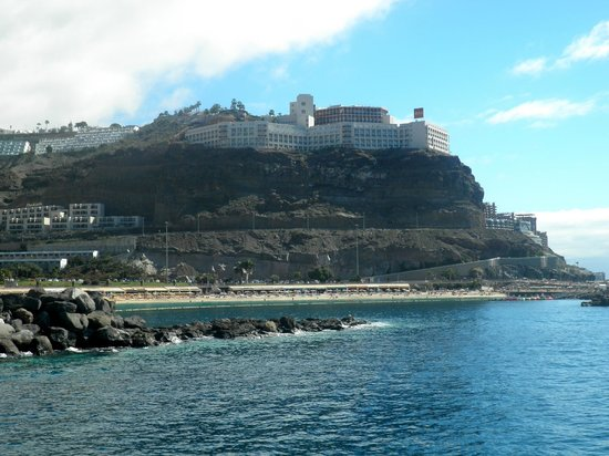 ClubHotel Riu Vistamar: View of the hotel from the ferry