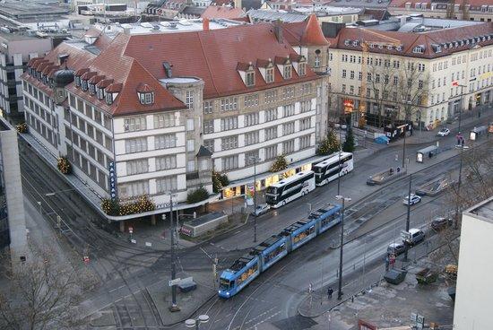 NH Muenchen Deutscher Kaiser: вид из окна