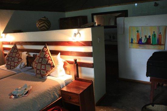 Elephant Valley Lodge: Unser Zelt