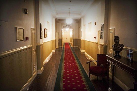 Dalat Palace Heritage Hotel: First Floor corridor