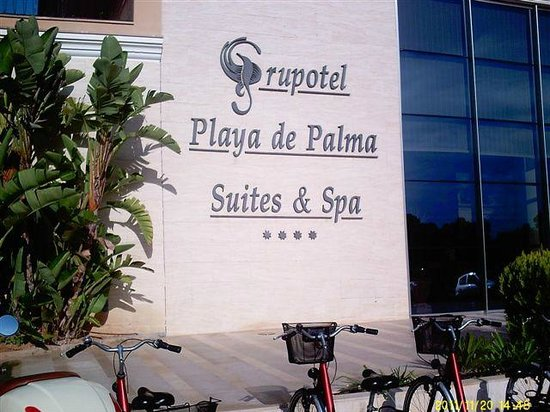 Grupotel Playa de Palma Suites & Spa: Da waren wir
