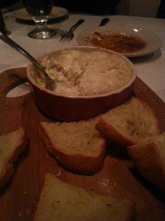 Asiago Tuscan Italian Restaurant: Crab Dip
