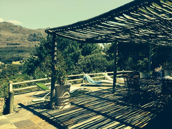 The Tarragon: Angelica's terrace