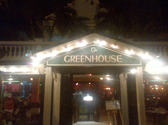 The Green House : Dinner at The Greenhouse