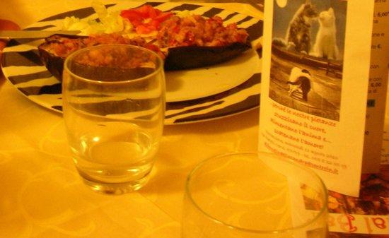 Al Fornello della Sandra : Barchetta di melanzane con pomodori gratinati (e menu personalizzato!)