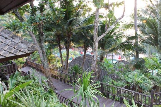 Andaman White Beach Resort : La vista dal terrazzo