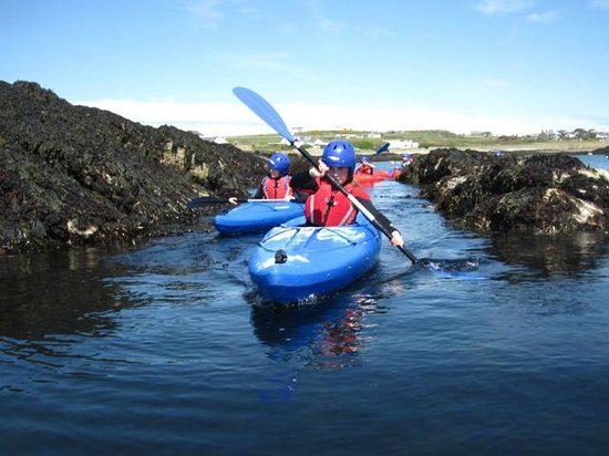 Outdoor Alternative: Kayaking in Rhoscolyn with BActive@Rhoscolyn