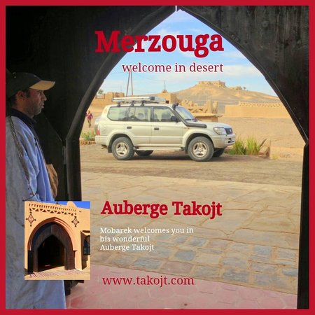 Auberge Takojt: Welcom to takojt