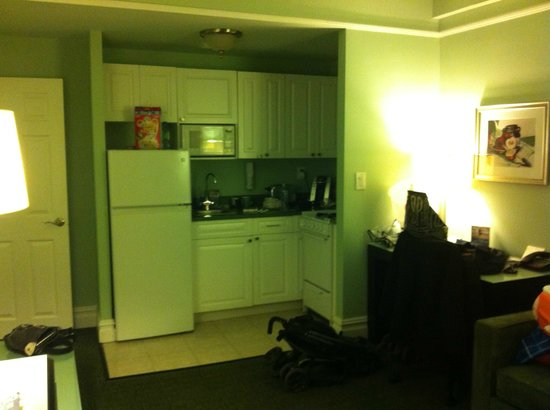 Hotel Beacon: Kitchenette