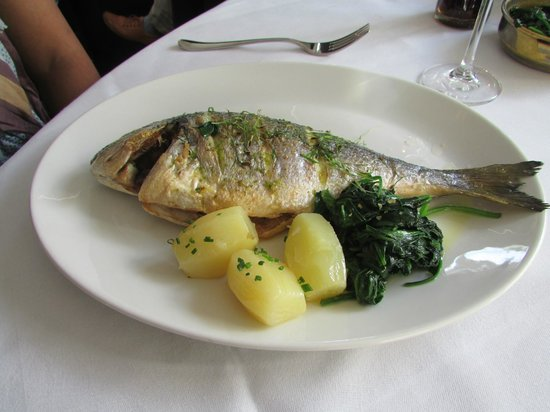 The Cliff Townhouse : Grilled Fish