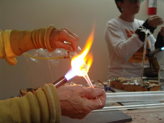 The Jacksonville Center for the Arts: Glass Class at the Jax