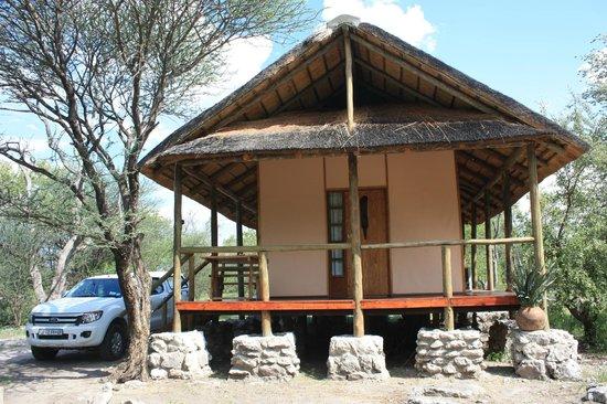 Thakadu Bush Camp: Holzhaus