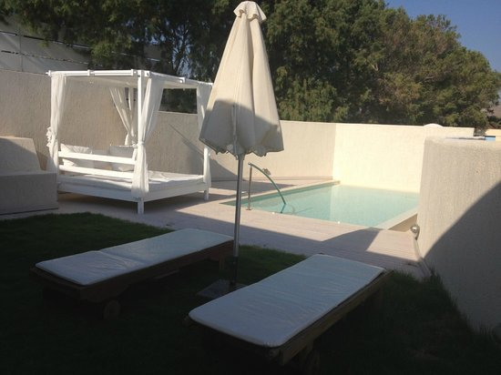 Knossos Beach Bungalows & Suites : pool exec suite