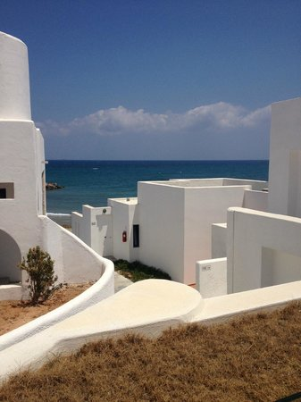 Knossos Beach Bungalows & Suites : view out of exec suite