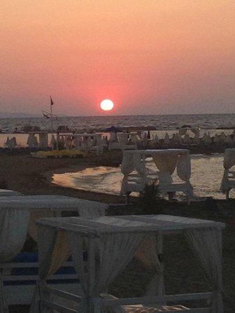 Knossos Beach Bungalows & Suites : sunset