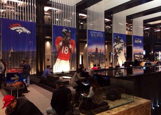 Grand Hyatt New York: Super Bowl week