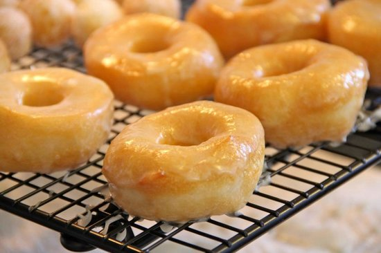 Fast Eddie's Diner: Doughnuts From Scratch!  Sunday's Only!