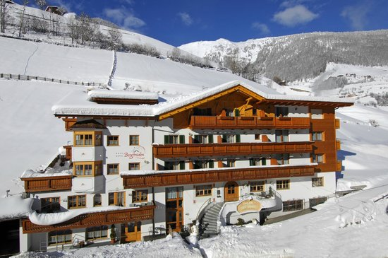 Inverno all'Hotel Bergfrieden im Winter