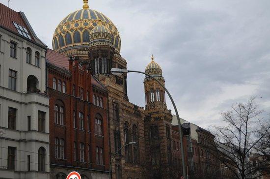 Nouvelle Synagogue de Berlin (Neue Synagoge Berlin - Centrum Judaicum) : schön