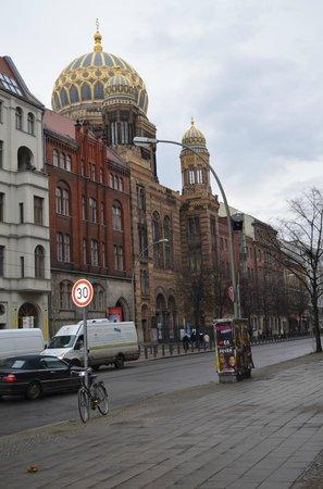 Nouvelle Synagogue de Berlin (Neue Synagoge Berlin - Centrum Judaicum) : nett
