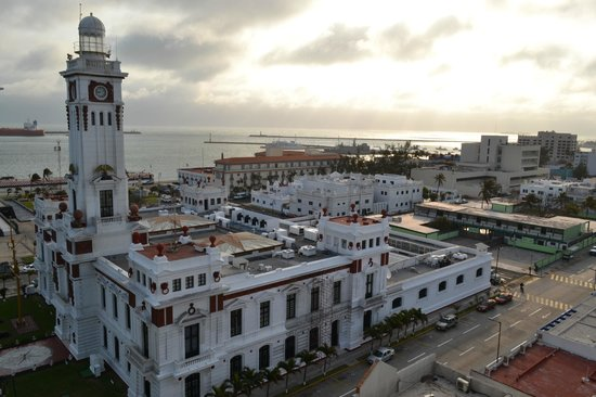 Emporio Veracruz: Vista del amanecer desde la habitación