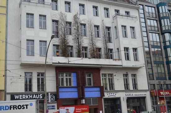 Oranienburgerstrasse: Toller Balkon