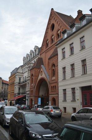 Oranienburgerstrasse: nett